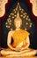 Stock Image : Thai Buddha Golden Statue