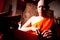 Stock Image : Thai Buddhist ordination ceremony