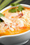 Stock Image : Thai Shrimp Soup with Rice