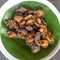 Stock Image : Thai style deep fried abalone mushroom