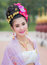 Stock Image : Thai Woman In Traditional Costume Of Thailand