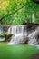 Stock Image : Thailand waterfall in Kanchanaburi