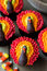 Stock Image : Thanksgiving cupcakes