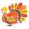 Stock Image : Thanksgiving Turkey