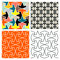 Stock Image : Tile Patterns