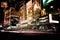 Stock Image : Times Square langs Zevende Weg