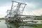 Stock Image : Tin Dredging Machine (Kapal Korek)