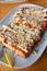 Stock Image : Toast shredded pork