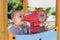 Stock Image : Toddler at playground