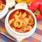 Stock Image : Tomato soup