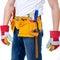 Stock Image : Tools belt holding