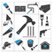 Stock Image : Tools icons