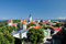 Stock Image : Top view on old city in Tallinn Estonia