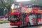 Stock Image : Tour bus in singapore