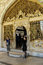 Stock Image : Tourists enter the Divan