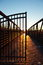 Stock Image : Toward rising sun