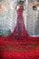 Stock Image : Tower of London Ceramic Poppy Display