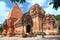 Stock Image : Towers Cham civilization. Nha Trang, Vietnam