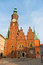 Stock Image : Town hall in Wroclaw, Poland