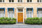 Stock Image : Townhouse Entrance Front Door