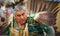 Stock Image : Traditional Chumash Costume