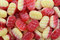 Stock Image : Traditional rhubarb and custard candies