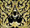 Stock Image : Traditional Thai style molding art background