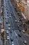 Stock Image : Traffic in Gran Via street, Madrid