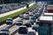 Stock Image : Traffic jam on highway