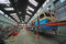 Stock Image : Train repair factory