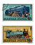 Stock Image : Train Stamps