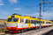 Stock Image : Train at the station in Karlskrona