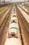 Stock Image : Train of tanks