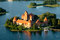 Stock Image : Trakai castle in Lithuania