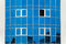 Stock Image : Transparent Blue Building Windows Of Business Center