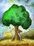 Stock Image : Tree hug