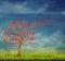 Tree Of Love Stock Photography