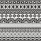 Stock Image : Tribal seamless pattern