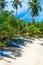 Stock Image : Tropical beach in Sri Lanka