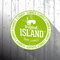 Stock Image : Tropical Island tag