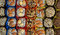 Stock Image : Turkish candies and sweets, tasty background,