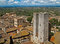 Stock Image : Twin towers in a medieval city, tuscany, italy