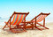 Stock Image : Two Beach Chairs