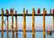 Stock Image : U-Bein Bridge December 1
