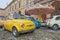 Stock Image :  Uitstekende Italiaanse auto Fiat 500 Abarth