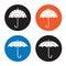 Stock Image : Umbrella icon
