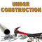 Stock Image : Under Construction Background