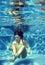 Stock Image : Underwater girl
