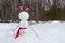 Stock Image : Upside down snowman