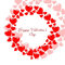 Stock Image : Valentine s day red hearts